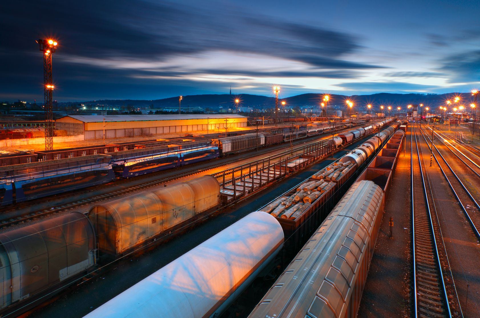 A rail yard management software increases efficiency