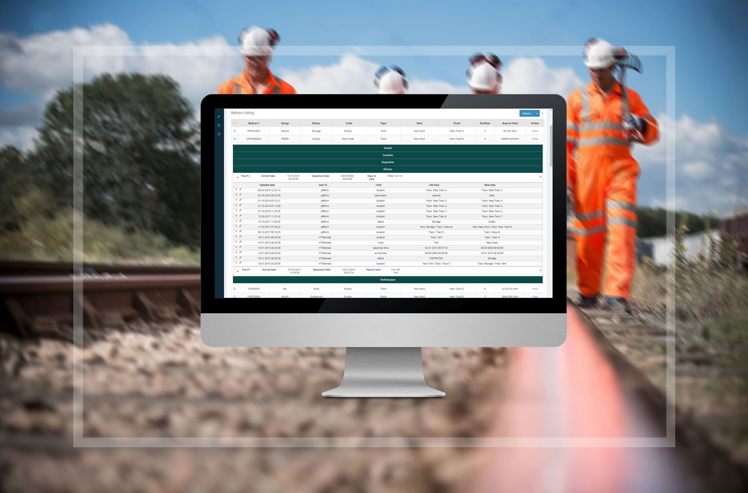 Railcar inspections, Inspection for Railcars
