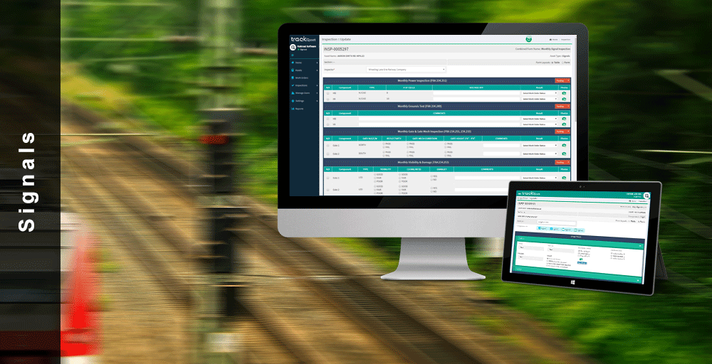 Railroad Software has FRA approval for SIgnal Inspection