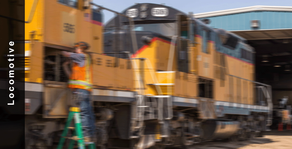 Locomotive daily inspections are maintained in the program and can be assigned daily to workers as well as the periodic inspections needed for locomotives